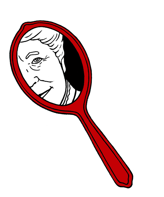 selma-i-spegeln-rod