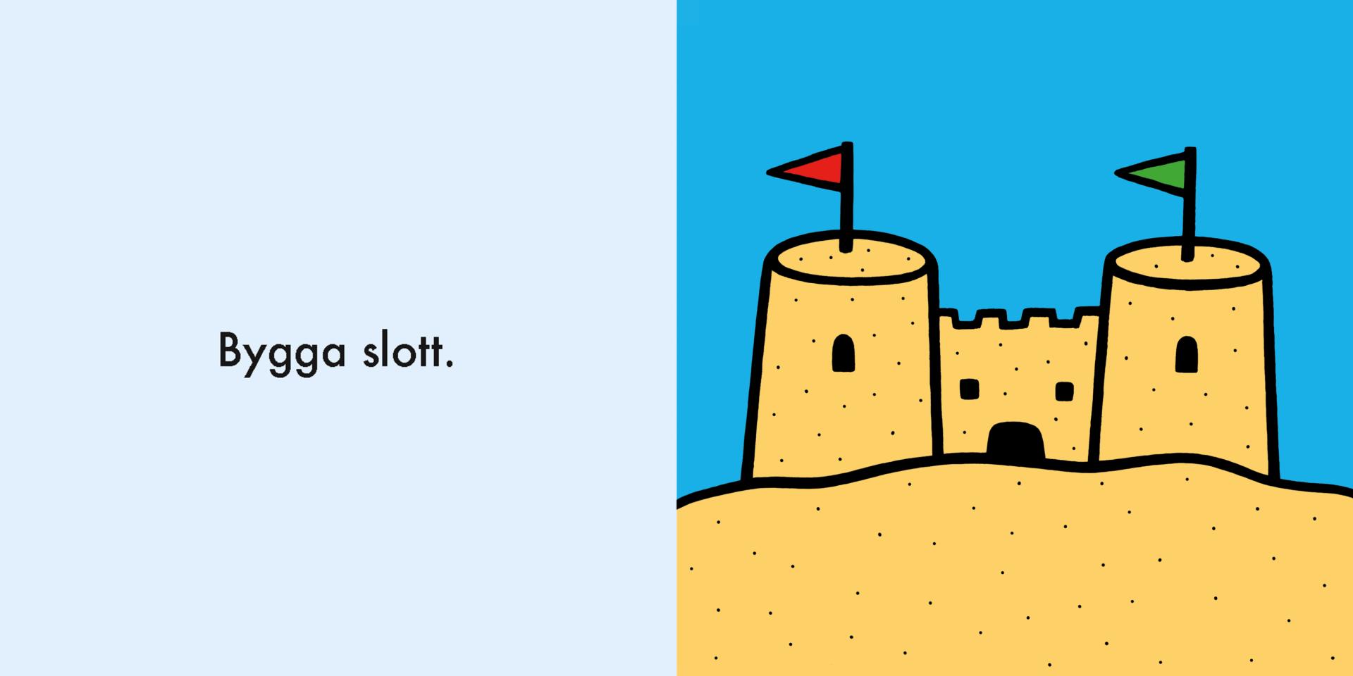 Bygga slott