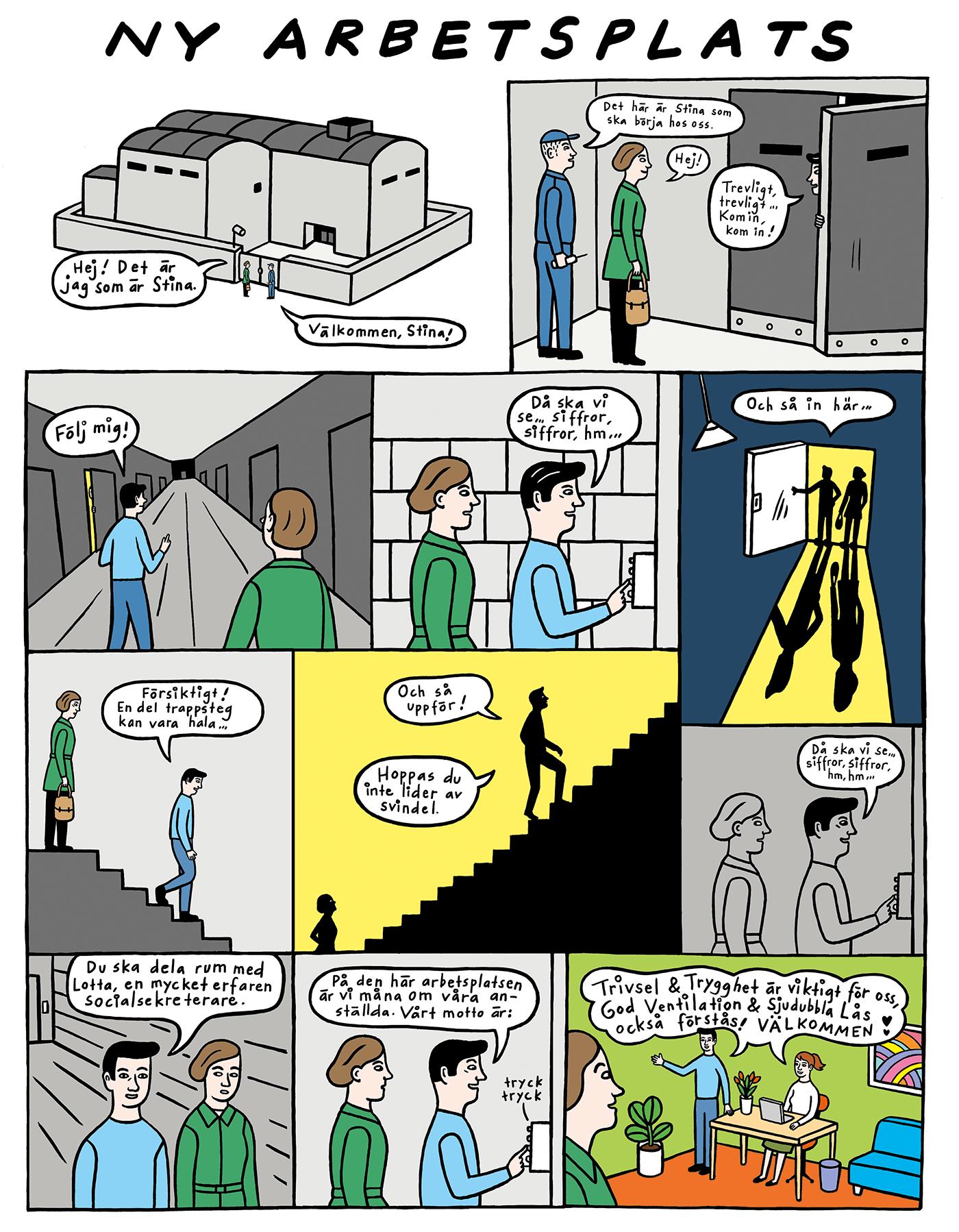 Ny-arbetsplats